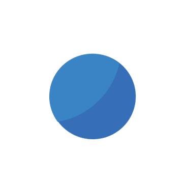 blue ball logo